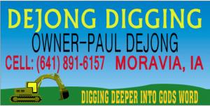 DeJong Digging
